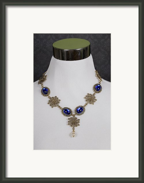 Chocker Framed Print By Joana Kruse