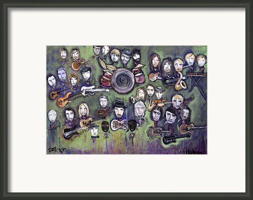 Chris Daniels And Friends Framed Print By Laurie Maves