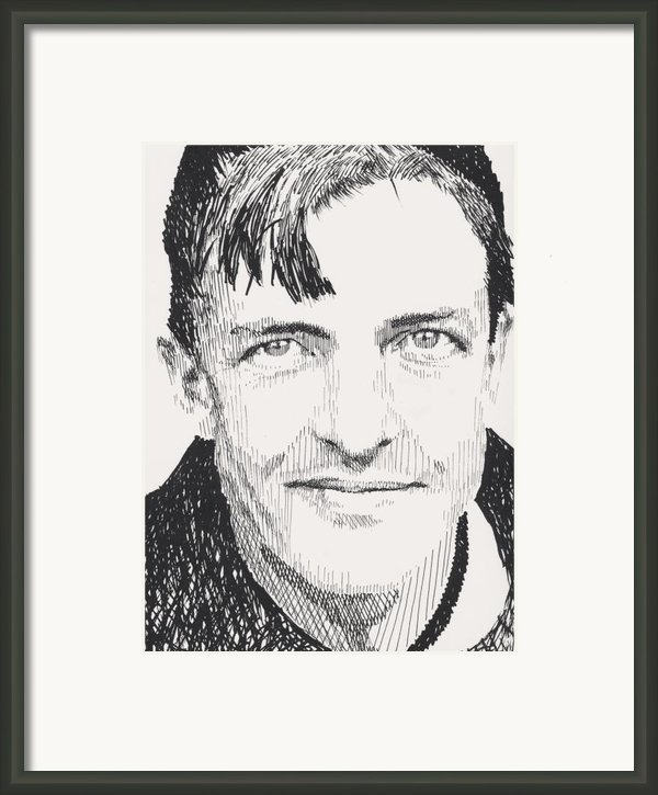 Christy Mathewson Framed Print By Robbi  Musser