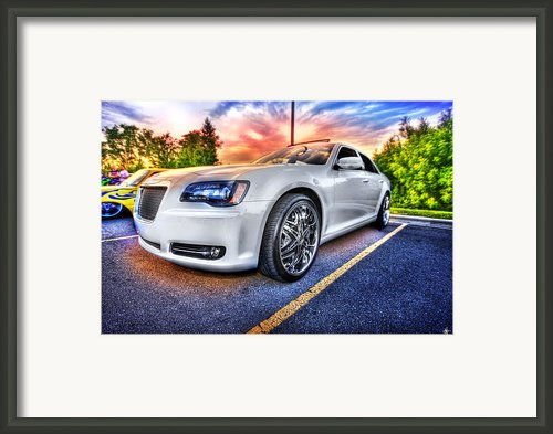 Chrysler 300 Framed Print By Nicholas  Grunas
