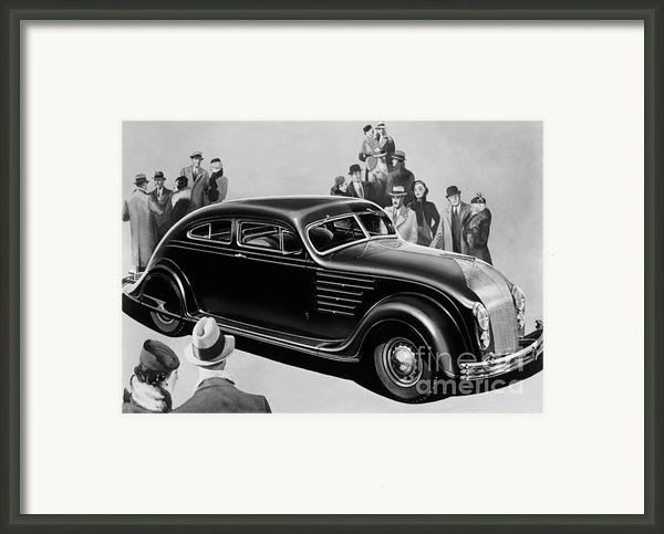 Chrysler Airflow Framed Print By Photo Researchers