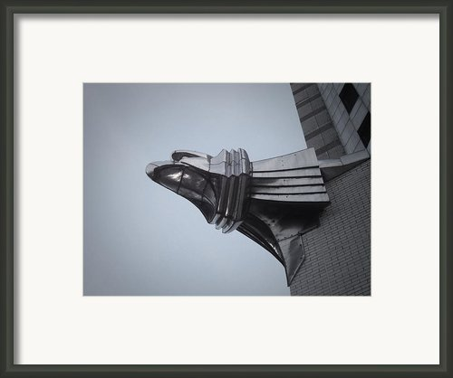 Chrysler Building Detail Framed Print By Irina  March