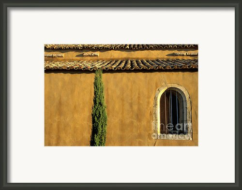 Church. Provence Framed Print By Bernard Jaubert