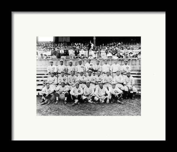 Cincinnati Reds, Baseball Team, 1919 Framed Print By Everett