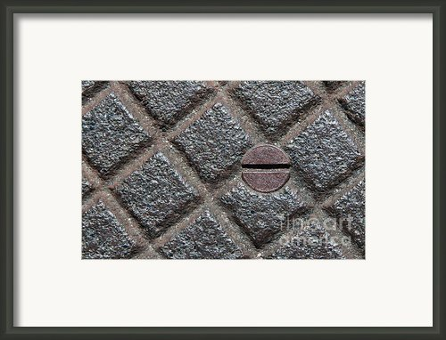 Circle And Squares Framed Print By Dan Holm