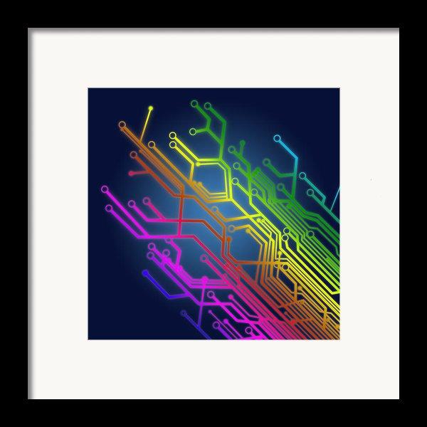 Circuit Board Framed Print By Setsiri Silapasuwanchai