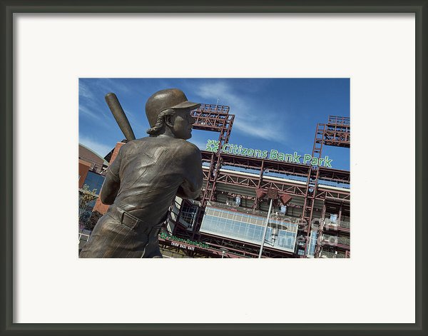 Citizans Bank Park Framed Print By John Greim