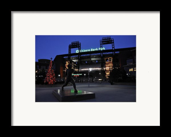 Citizens Bank Park Framed Print By Andrew Dinh