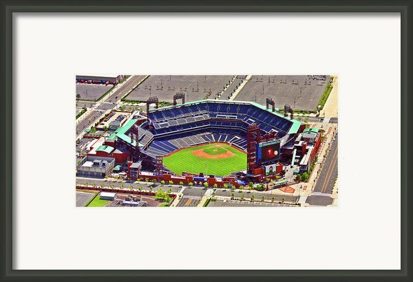 Citizens Bank Park Phillies Framed Print By Duncan Pearson