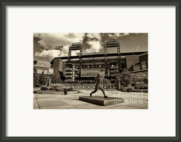 Citizens Park 1 Framed Print By Jack Paolini