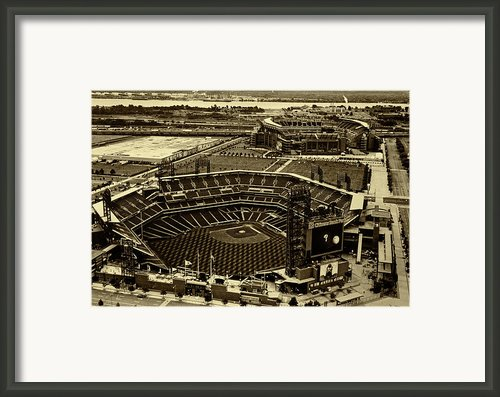 Citizens Park And The Link Framed Print By Jack Paolini