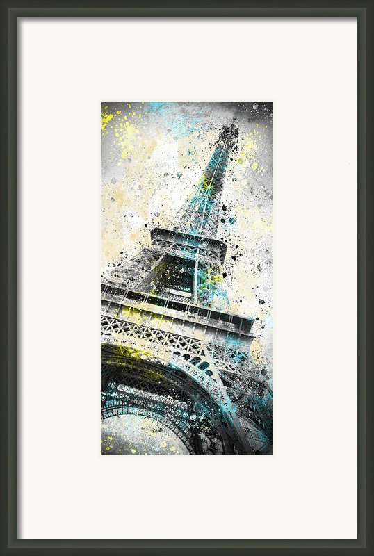 City-art Paris Eiffel Tower Iv Framed Print By Melanie Viola