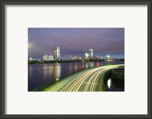 City Flow Framed Print By Eric Hill