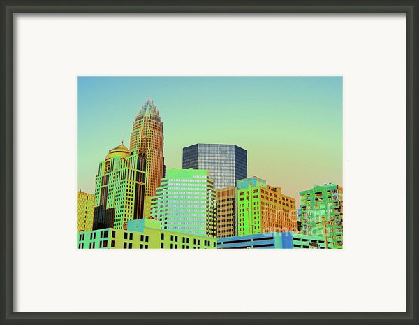 City Of Colors Framed Print By Karol  Livote