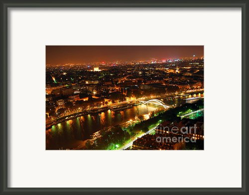City Of Light Framed Print By Elena Elisseeva
