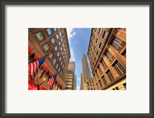 City Streets Framed Print By Kelly Wade