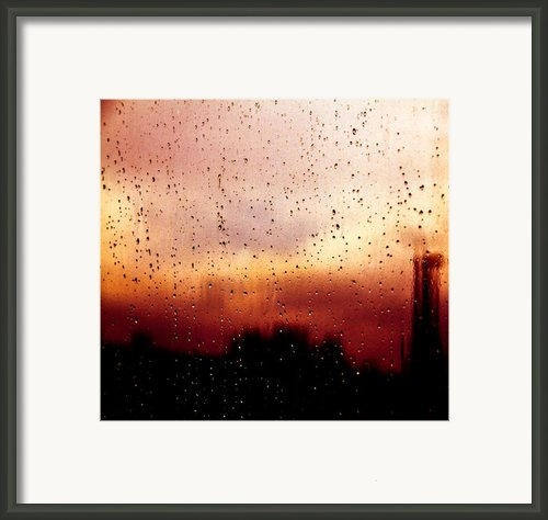 City Window Framed Print By Bob Orsillo