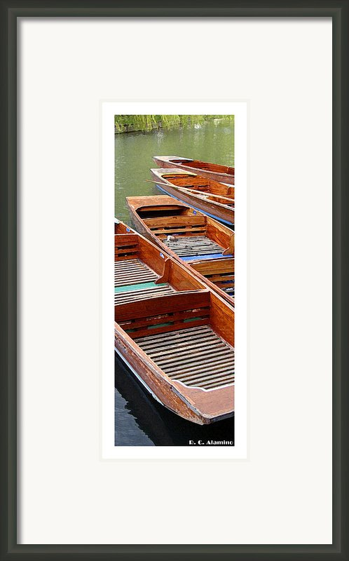 Citymarks Cambridge Framed Print By Roberto Alamino