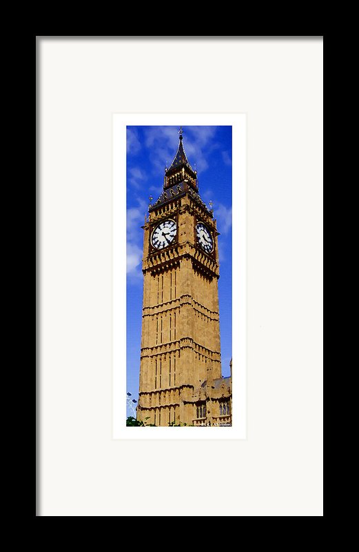 Citymarks London Framed Print By Roberto Alamino