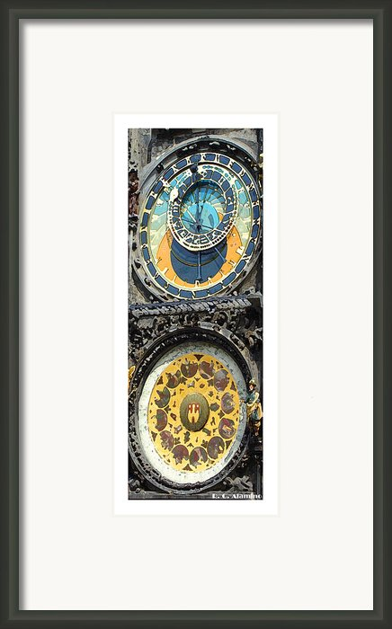 Citymarks Prague Framed Print By Roberto Alamino