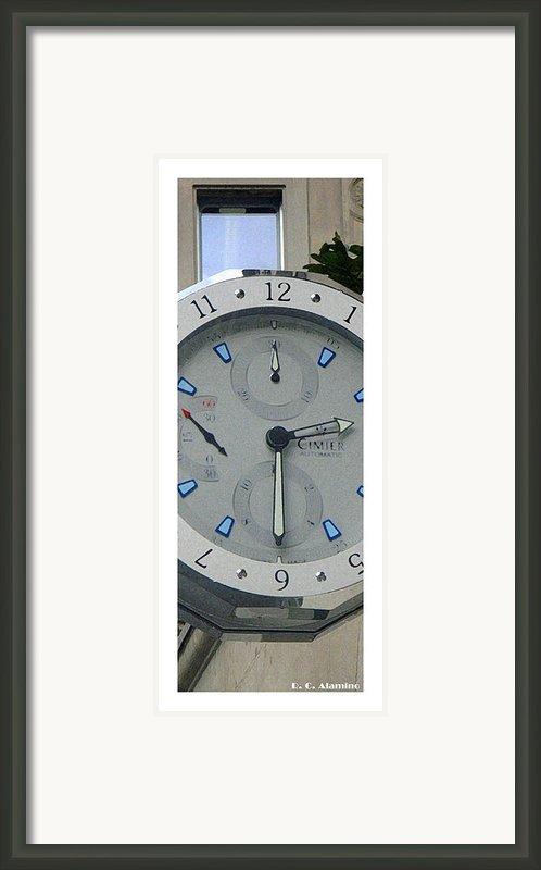 Citymarks Zurich Framed Print By Roberto Alamino