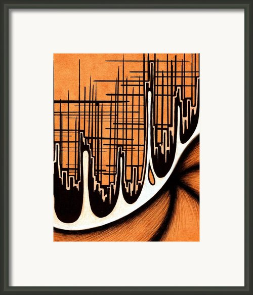 Cityscape One Framed Print By Jeff Dottavio