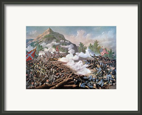 Civil War, 1864 Framed Print By Granger