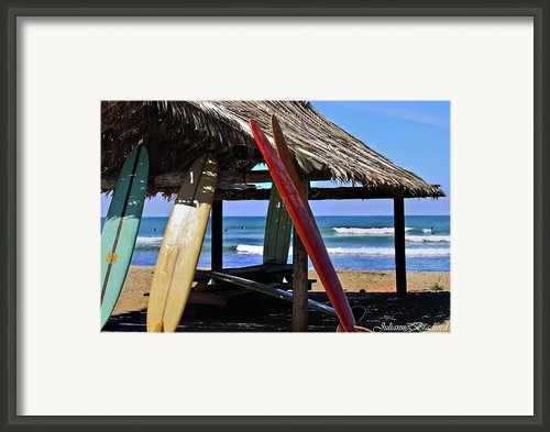 Classic Boards Framed Print By Julianne Bradford