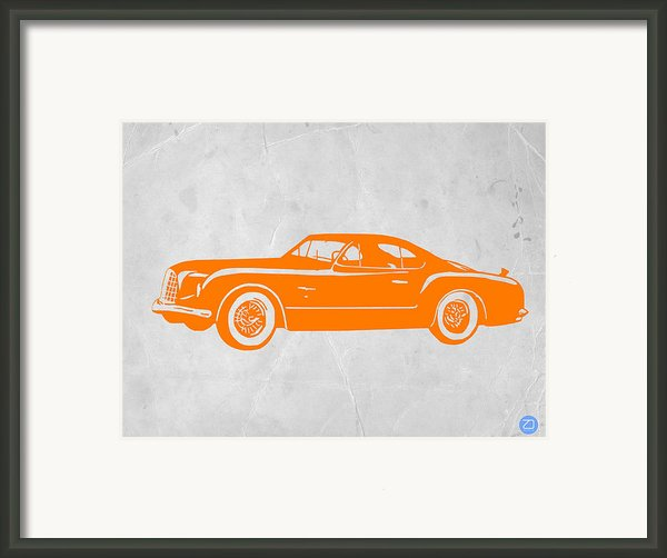 Classic Car 2 Framed Print By Irina  March