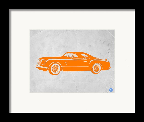 Classic Car 2 Framed Print By Naxart Studio