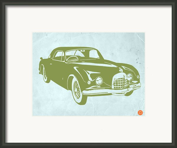 Classic Car Framed Print By Irina  March