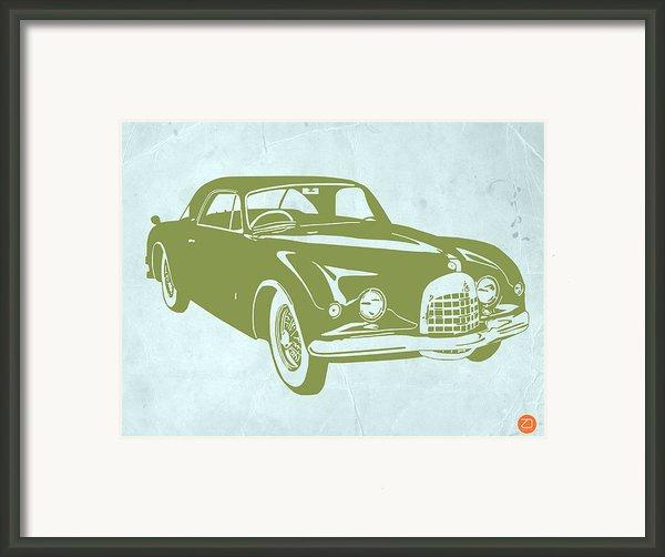 Classic Car Framed Print By Naxart Studio