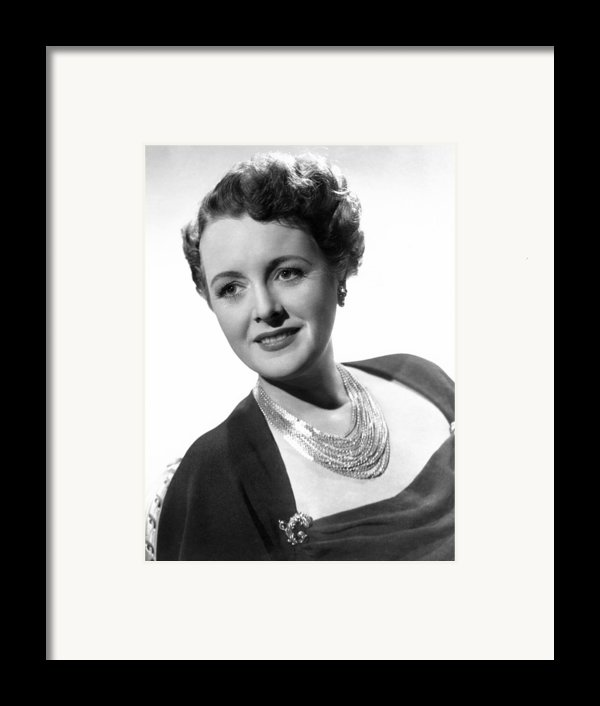 Claudia And David, Mary Astor, 1946 Framed Print By Everett