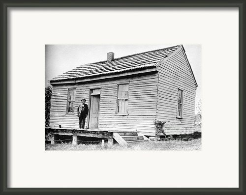 Clemens: Birthplace Framed Print By Granger
