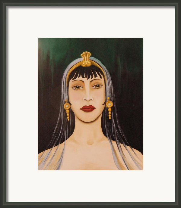 Cleo Framed Print By Leah Saulnier The Painting Maniac