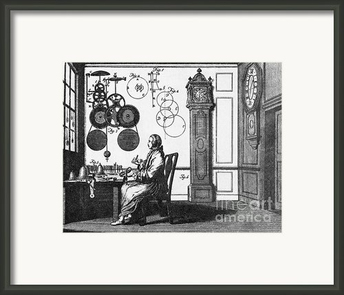 Clockmaker Framed Print By Science Source