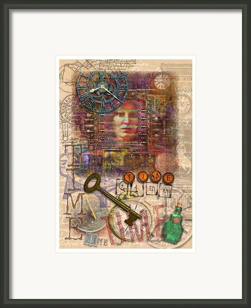 Clockworks Framed Print By Ernestine Grindal