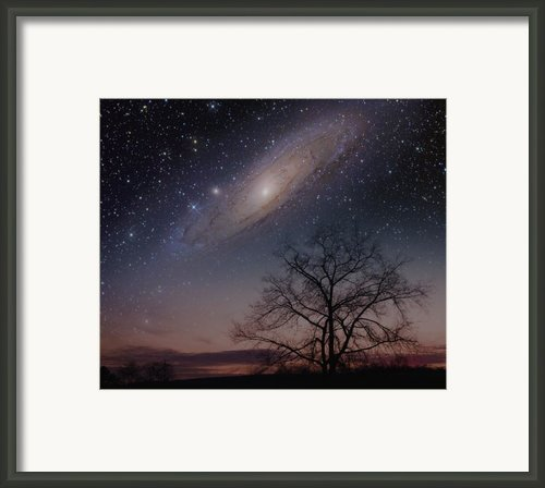 Close Encounters - Andromeda Framed Print By Charles Warren