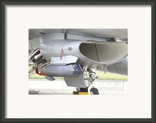 Close-up Of A Sniper Advanced Targeting Framed Print By Timm Ziegenthaler