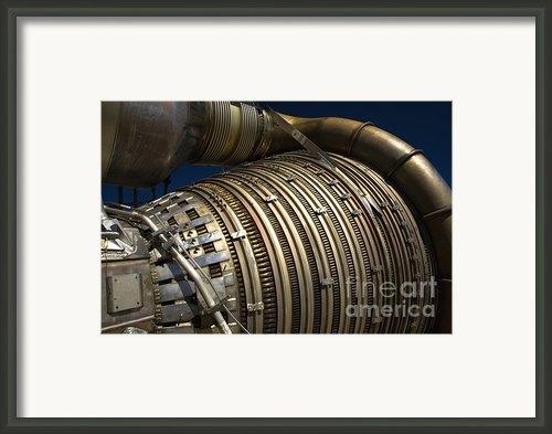 Close-up View Of A Rocket Engine Framed Print By Roth Ritter