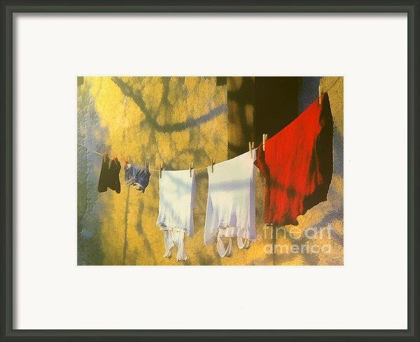 Clothing Framed Print By Odon Czintos