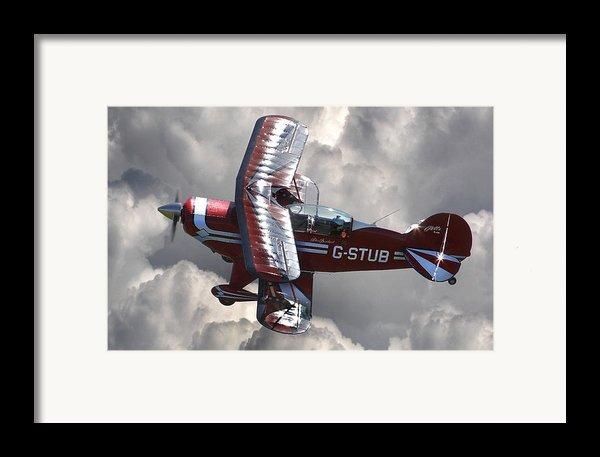 Cloud Dancer Framed Print By Kris Dutson