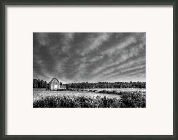 Cloud Illusion Framed Print By Elisabeth Van Eyken