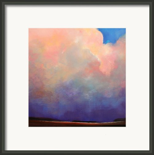 Cloud Light Framed Print By Toni Grote