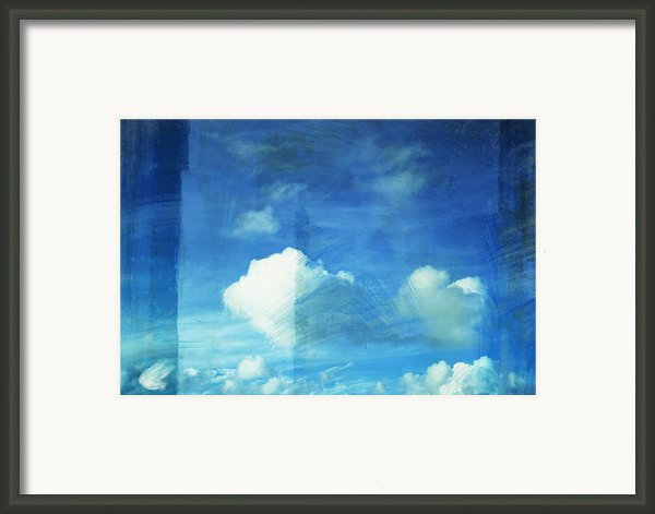 Cloud Painting Framed Print By Setsiri Silapasuwanchai
