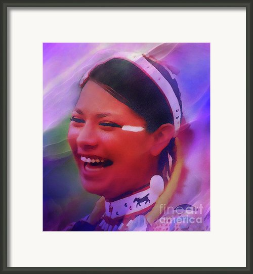 Cloud Spirit Framed Print By Terril Heilman