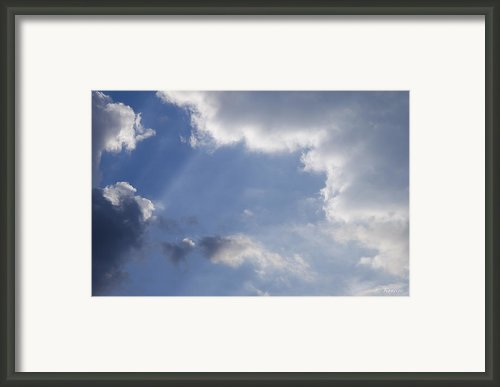 Clouds Framed Print By Lyubomir Kanelov