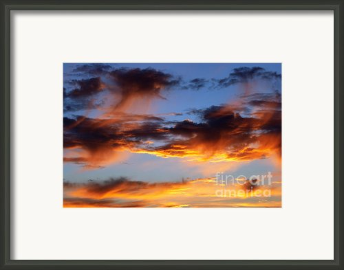Clouds Framed Print By Michal Boubin