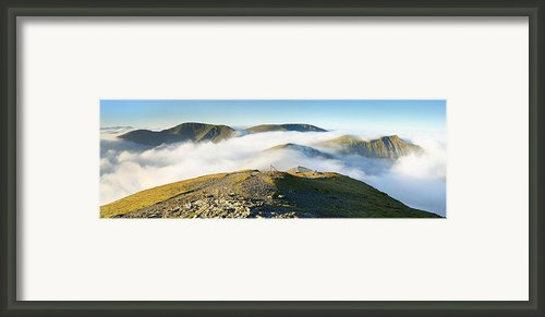 Cloudsurfing Grisedale Pike Framed Print By Stewart Smith