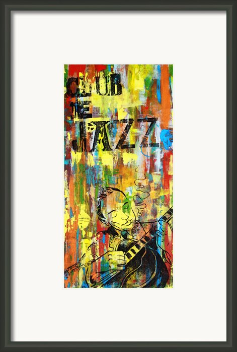 Club De Jazz Framed Print By Sean Hagan